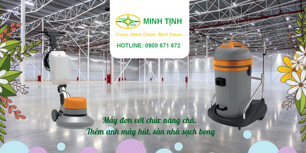 May cha san don va may hut bui cong nghiep